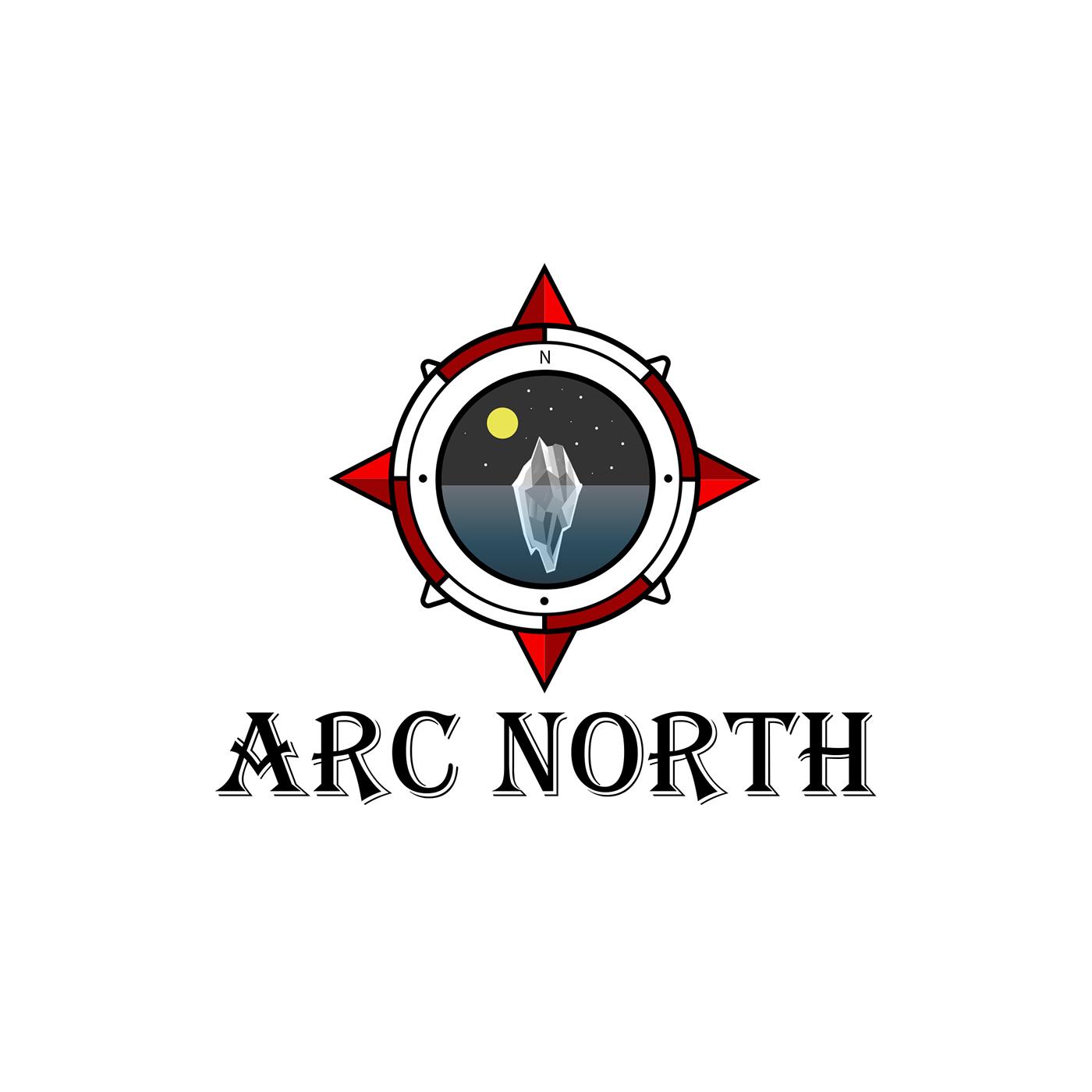 Projektowanie logo arc north