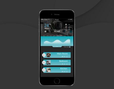Opracowanie graficzne aplikacji Smart Home