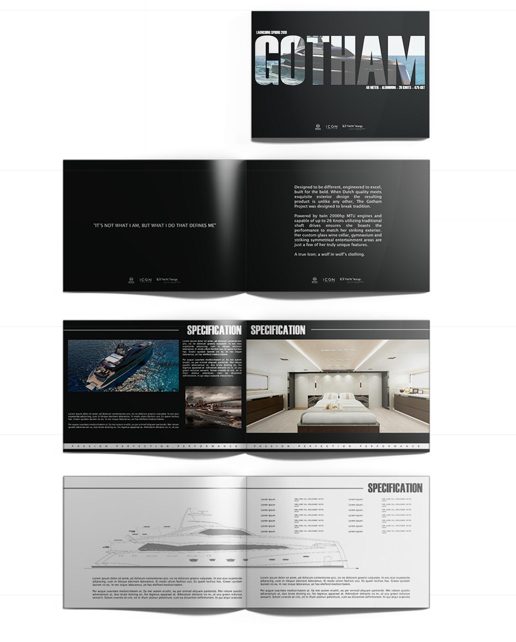 Projekt graficzny bookletów