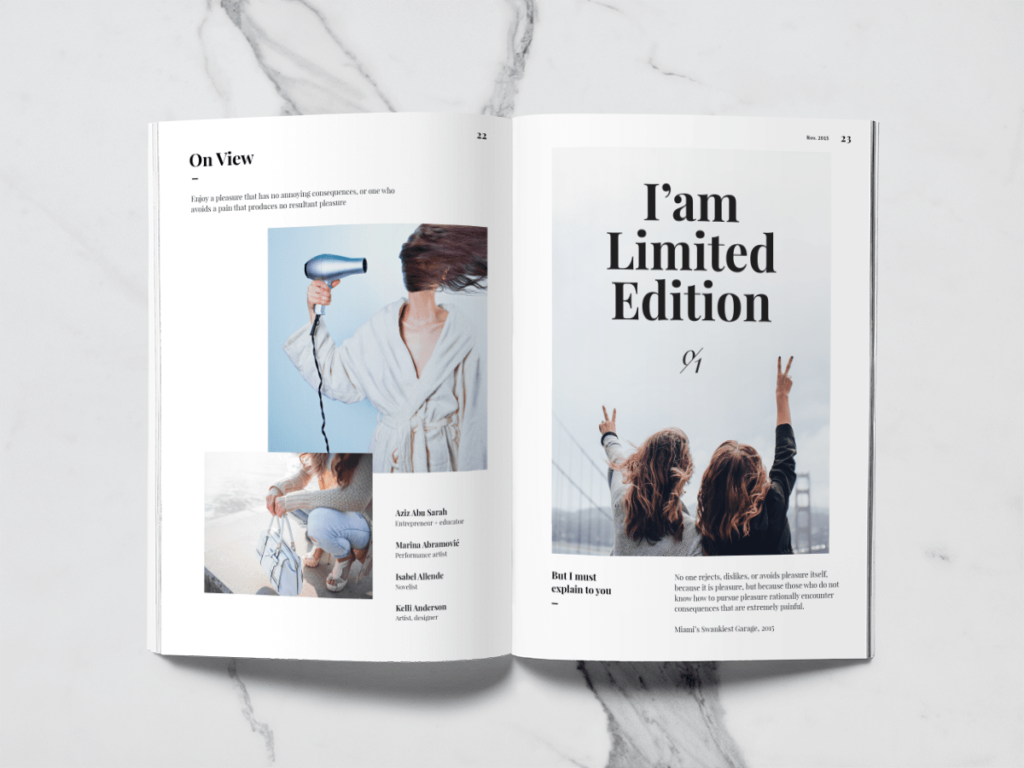 Projekt graficzny broszura do druku