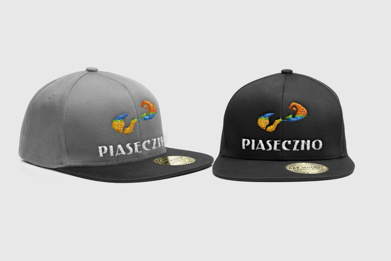 Piaseczno projektowanie logotypu czapka z logotypem