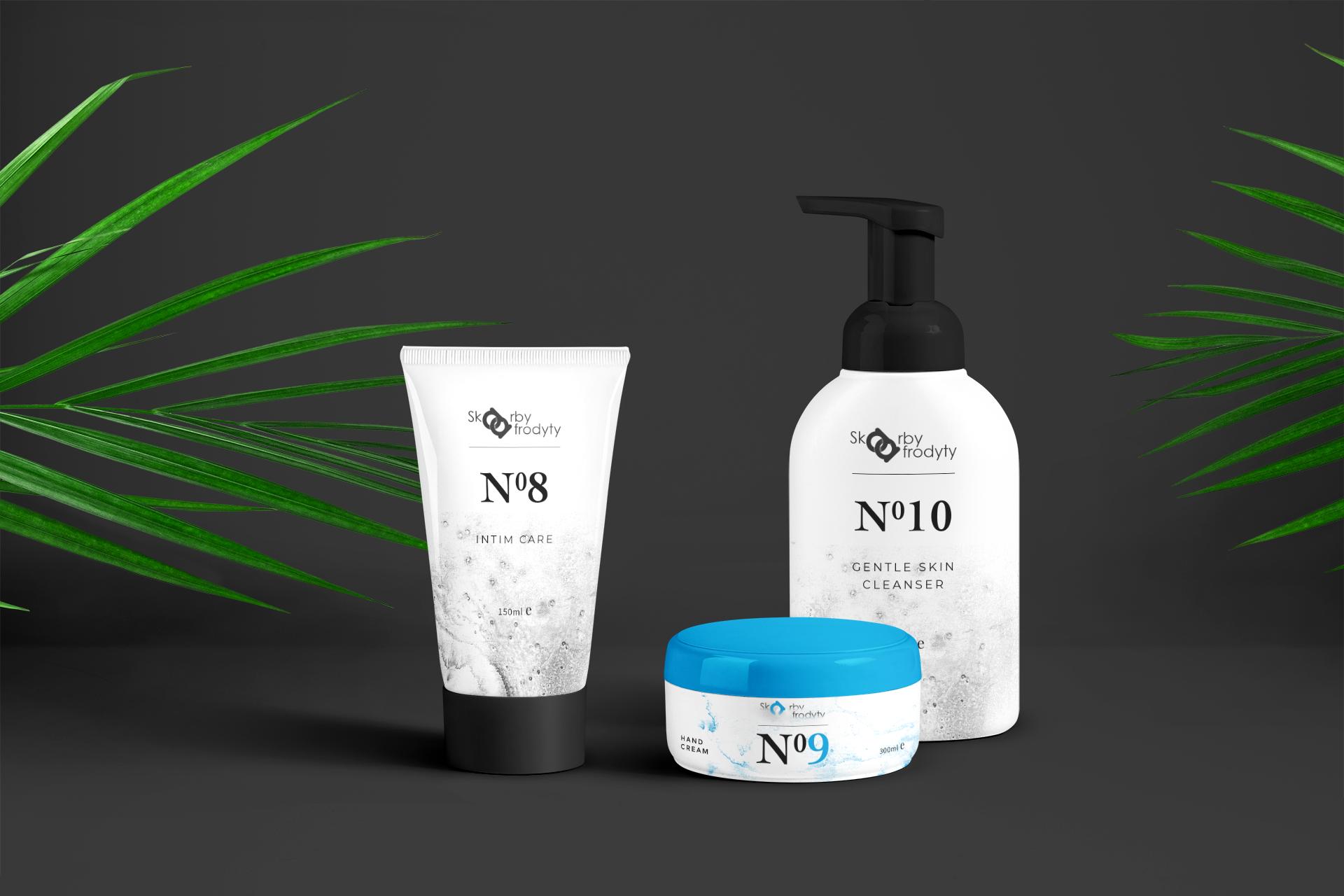 projekt graficzny opakowań kosmetyka