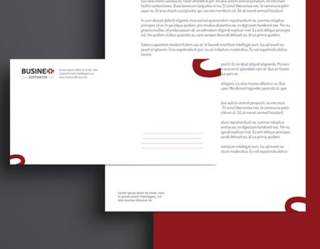 Identyfikacja wizualna firmy Business Supporter – projekt graficzny logotypu