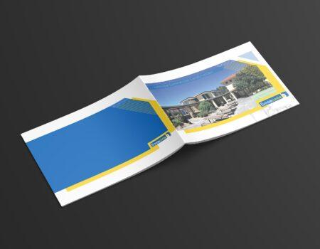 Projekt graficzny broszury dla firmy budowlanej