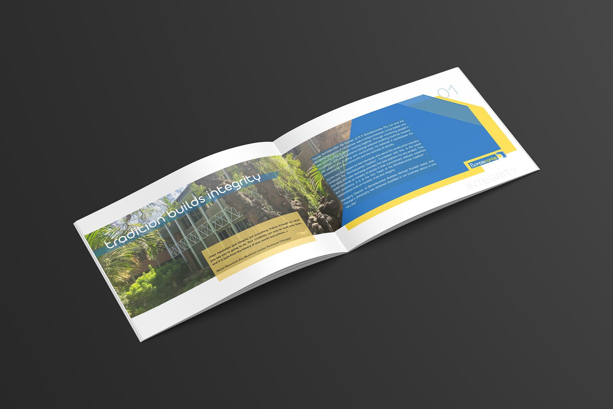 booklet dla firmy budowlanej