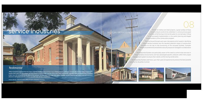 Projektowanie graficzne broszury magazynu