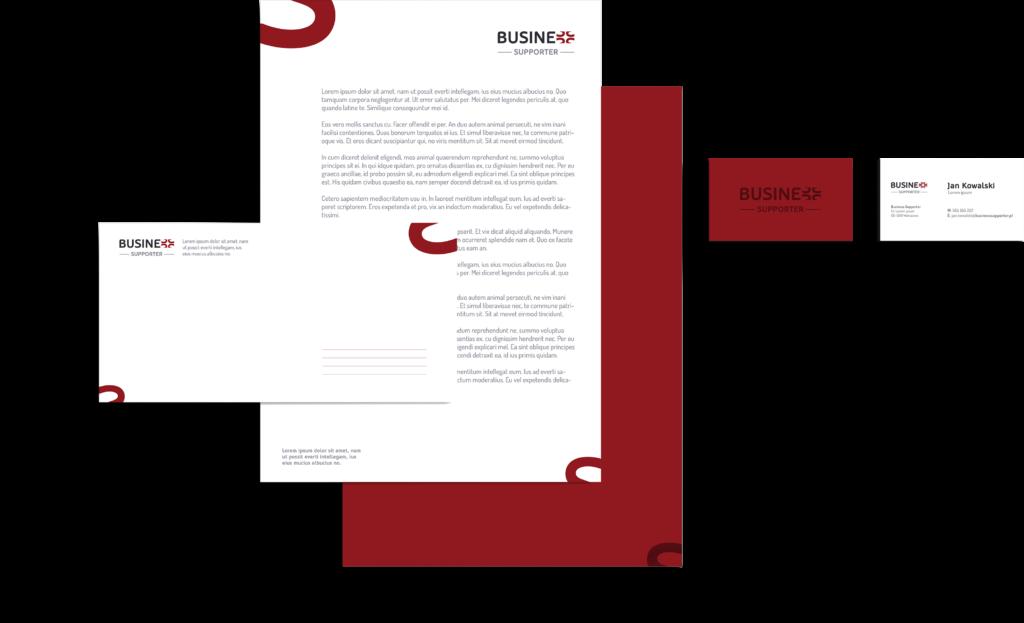Projektowanie graficzne papier firmowy
