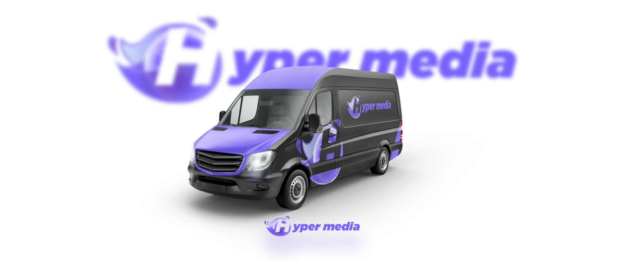 projekt logotypu i oklejanie samochodu