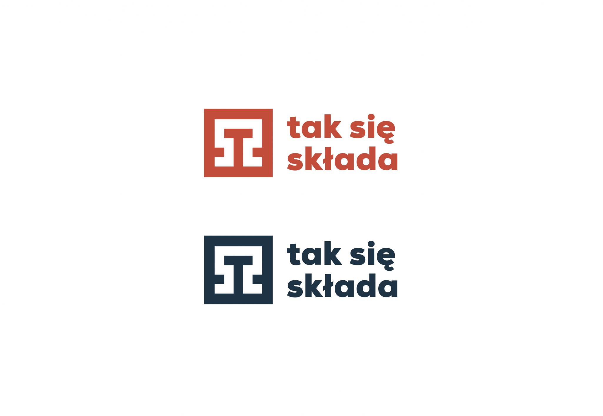 logotyp projekt tak się składa